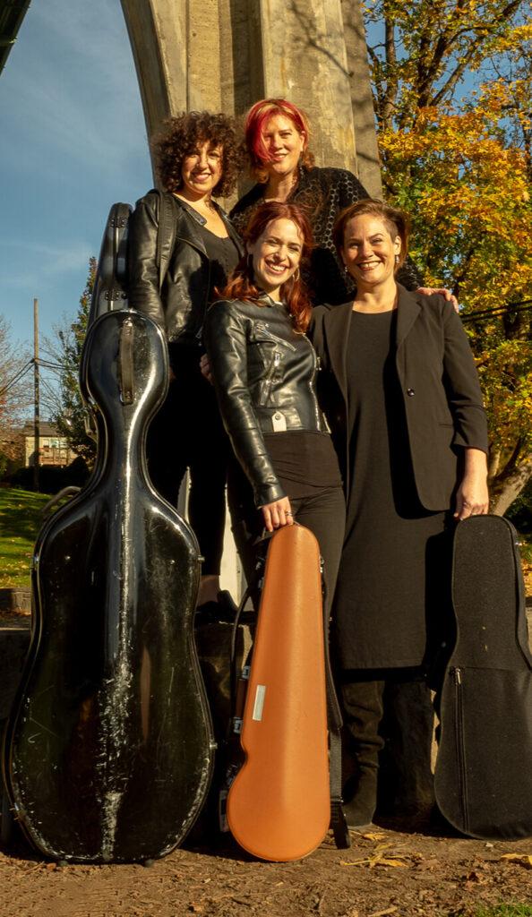 Stumptown String Quartet The perfect quartet