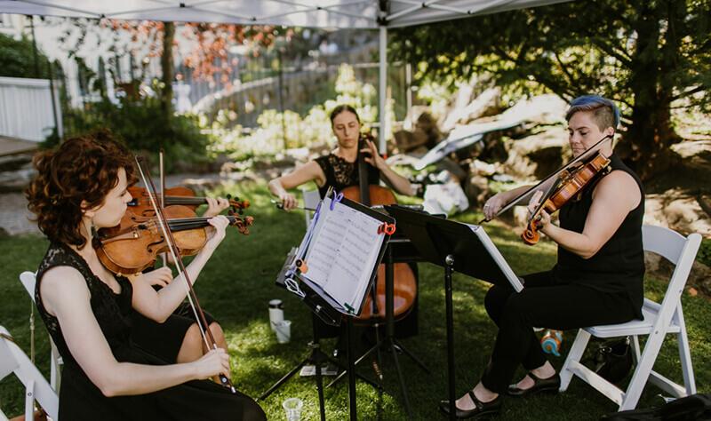 Stumptown String Quartet weddings